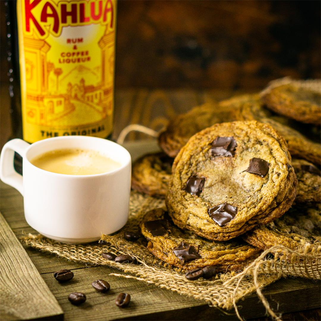 Espresso and Kahlua Cookies
