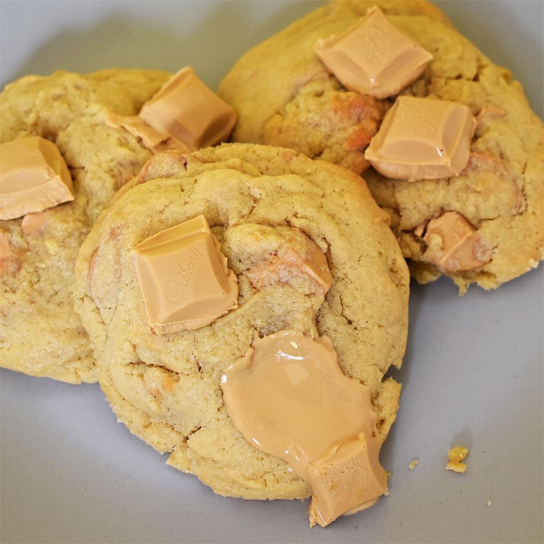 Caramilk Cookies