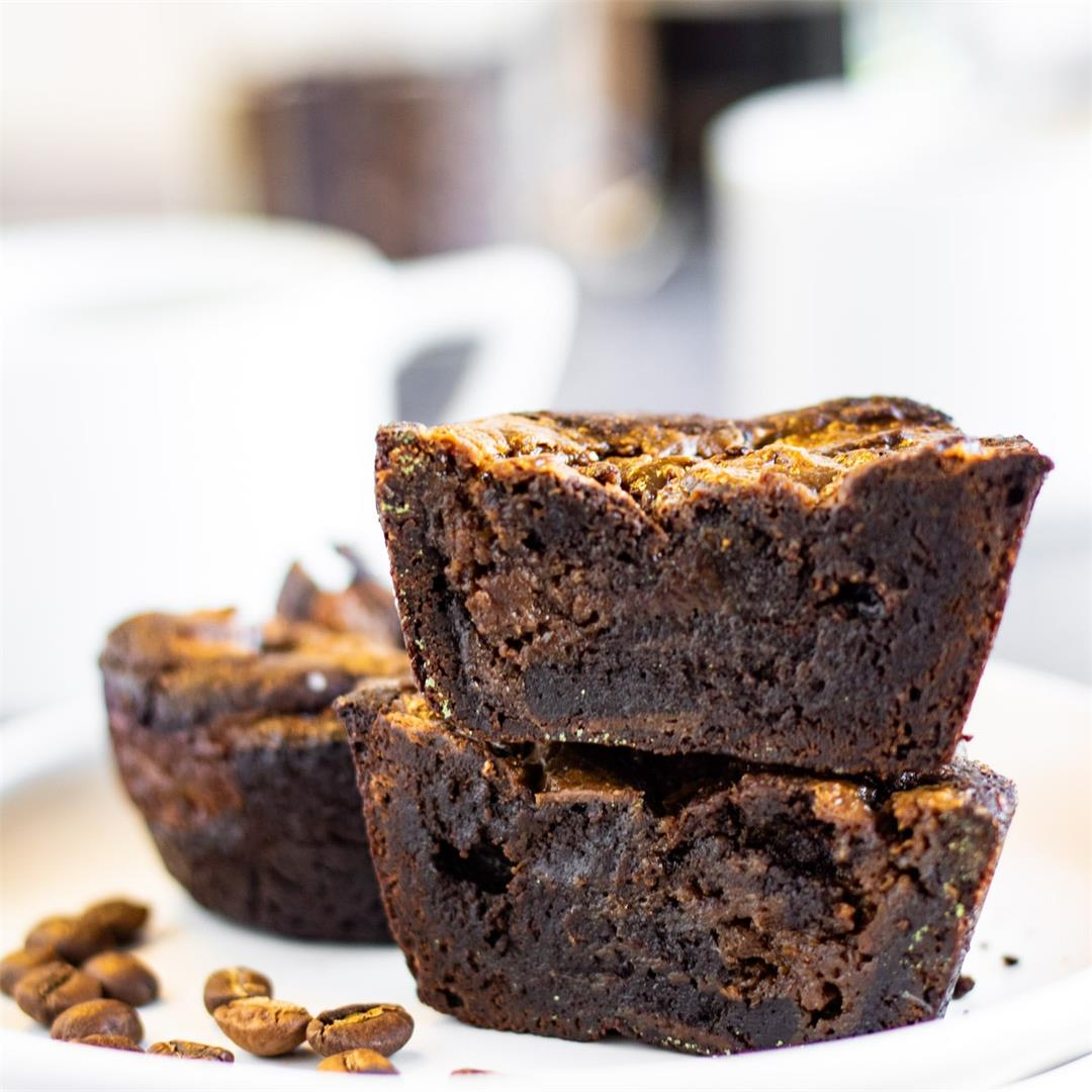 Coffee Brownies for Two