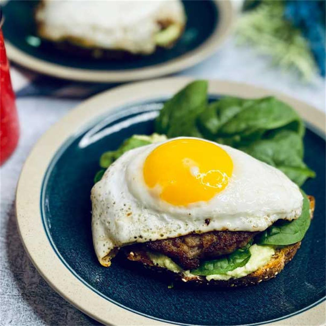 Avocado Feta Breakfast Sammies