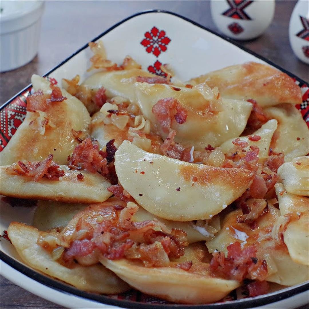 Cottage Cheese & Potato Perogies