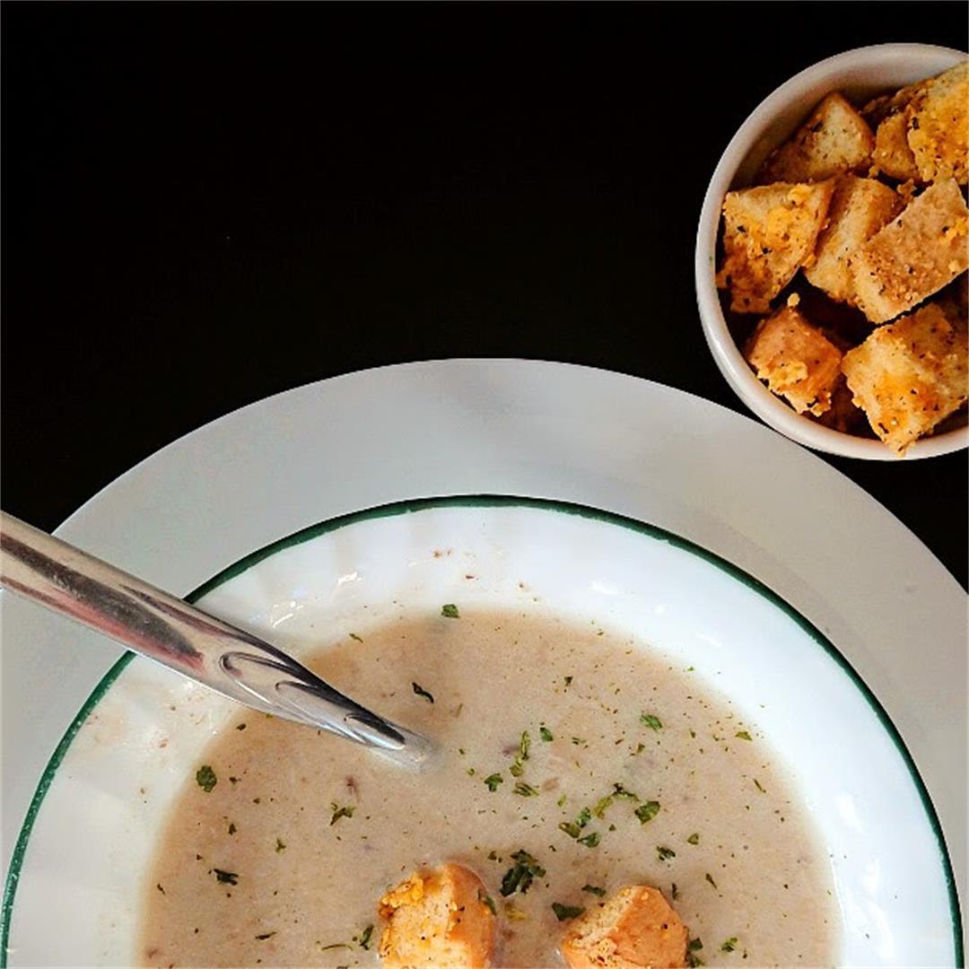 Dairy Free Cream of Chicken Soup