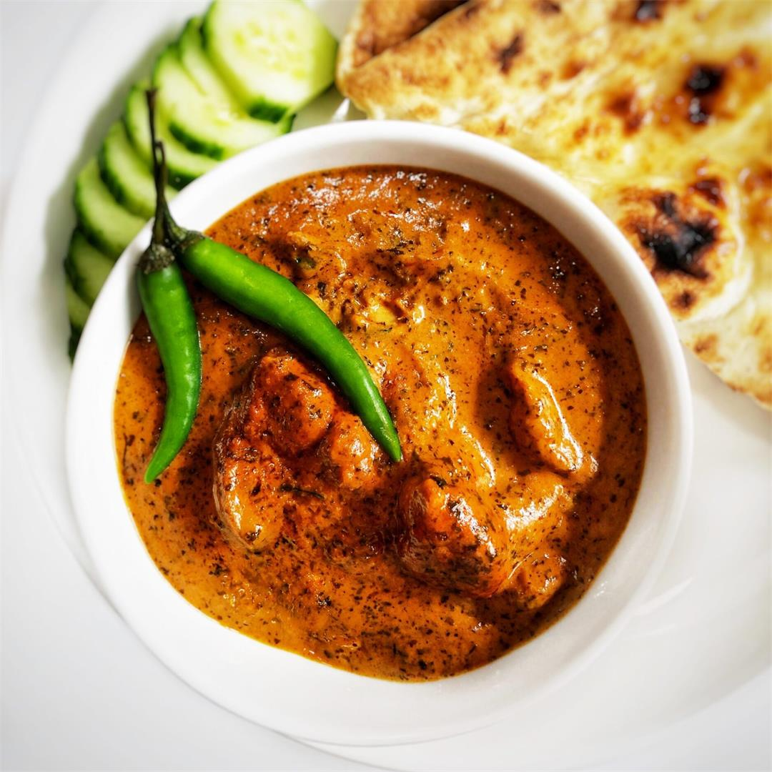 Quick and Simple Family Friendly Butter Chicken Masala