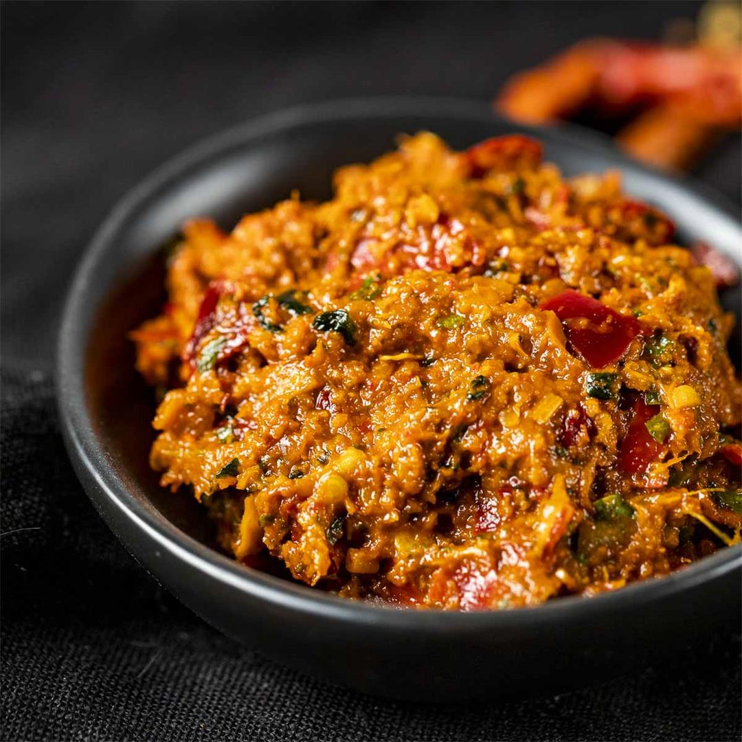 How to Make Panang Curry Paste