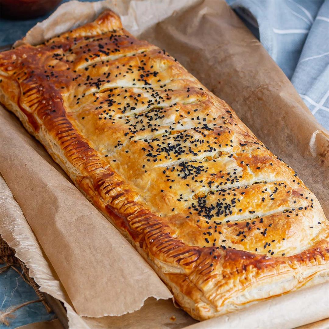 Butternut Squash Wellington with Goat's Cheese