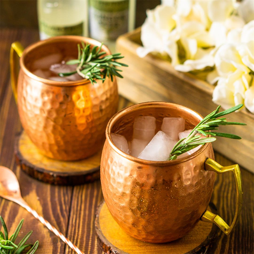 Rosemary Kentucky Mule