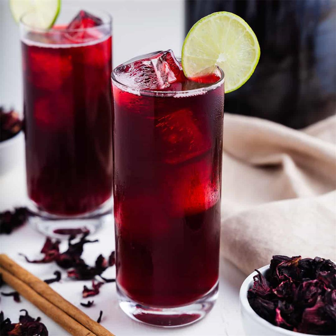 Agua de Jamaica Recipe (Hibiscus Iced Tea)