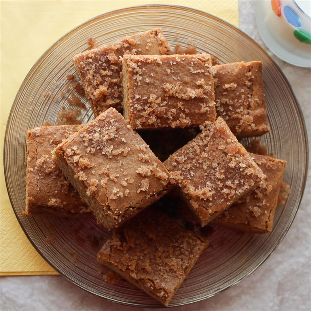 Click Here for our Snickerdoodle Blondies Recipe
