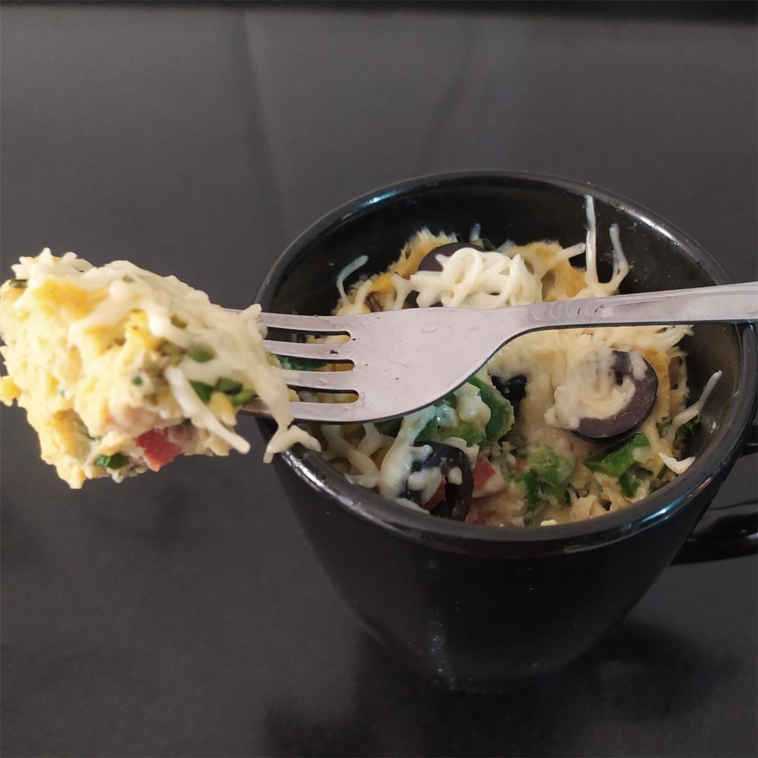 Frittata in a Mug | Best And Easy Mug Recipe