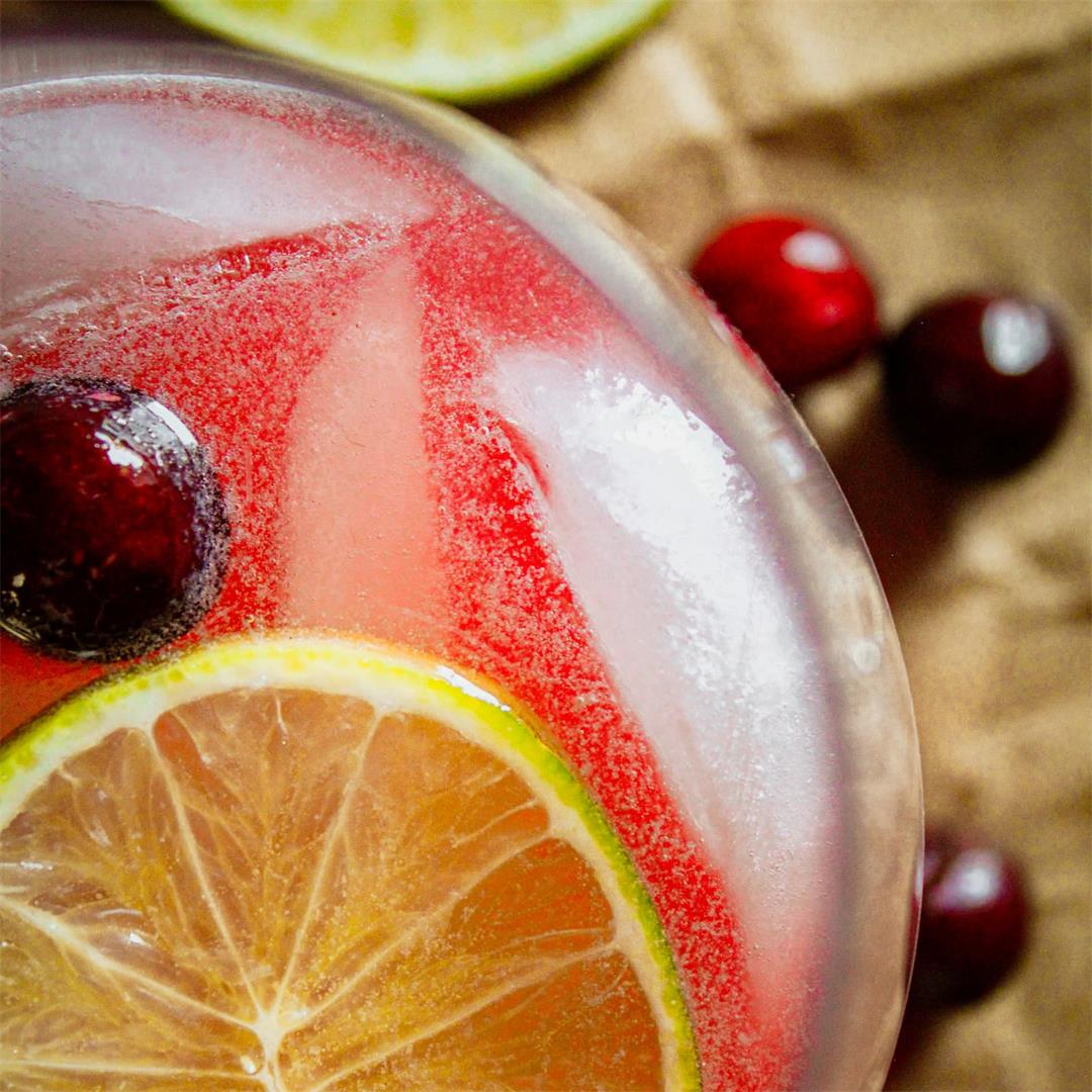 Cranberry Christmas Moscow Mule