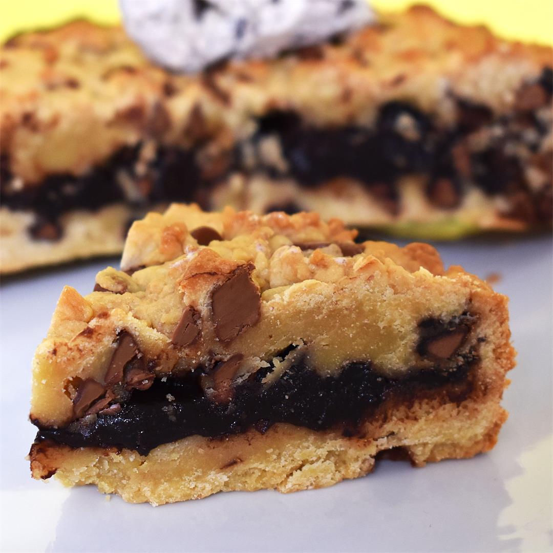 Hot Fudge Cookie Pie