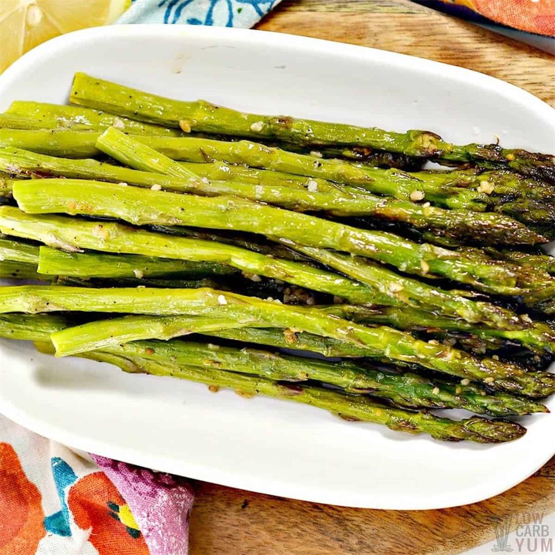 Oven-Roasted Asparagus (Quick & Easy)