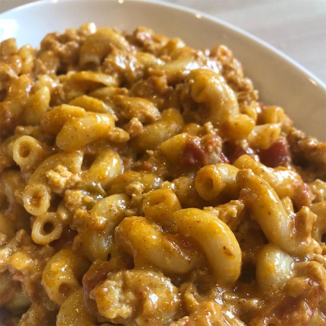 Mexican Cheeseburger Macaroni