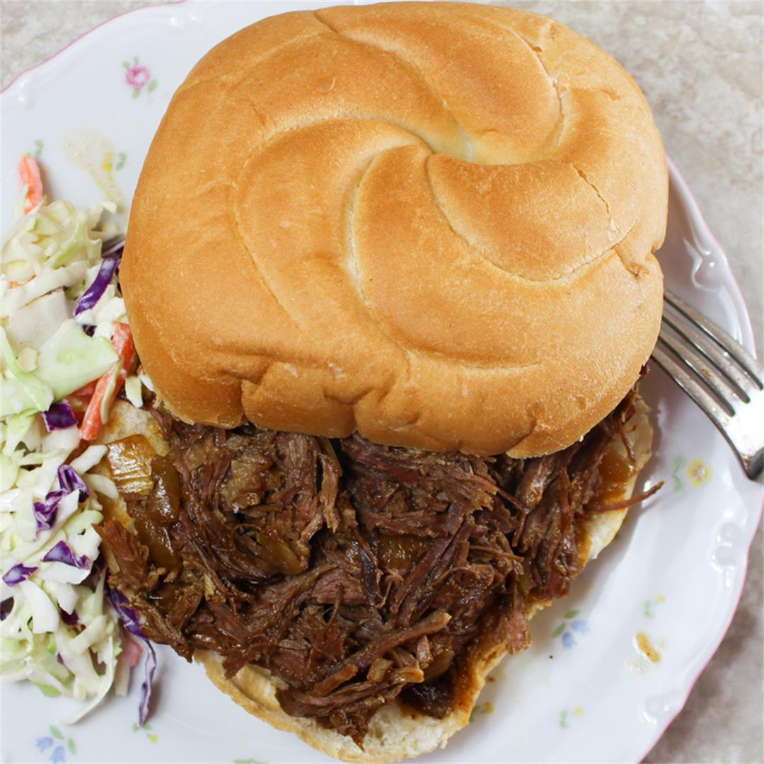 Click Here for our Slow Cooker BBQ Beef Recipe