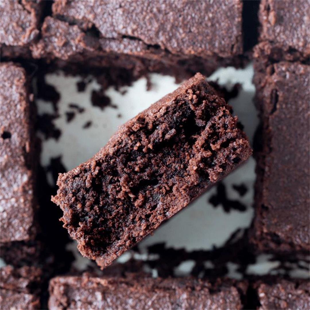 Oat Flour Brownies