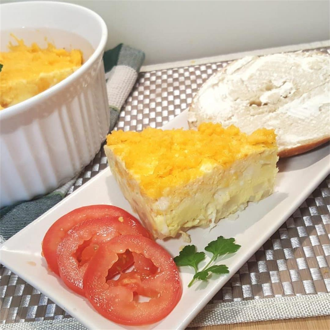 Pressure Cooker Spanish Tortilla (Potato Egg Frittata)