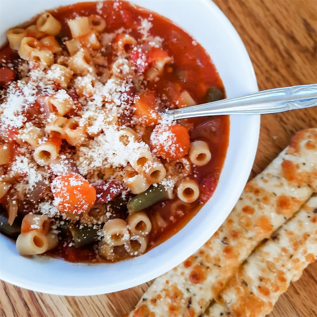 Easiest Instant Pot Minestrone