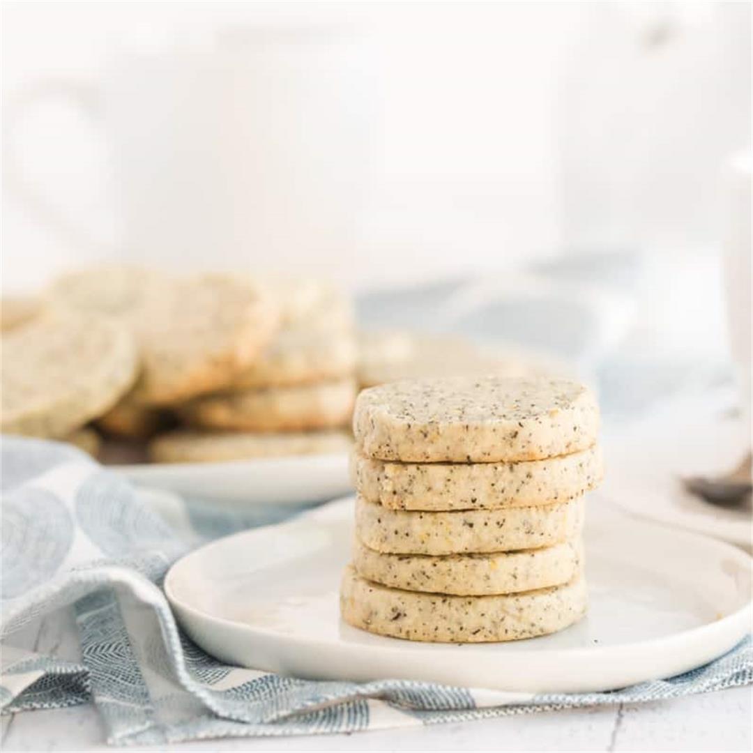 Fragrant Earl Grey Cookies
