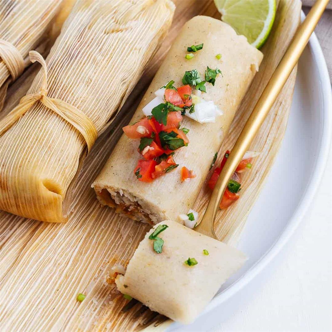How To Make Tamales (Vegan Tamales Recipe)