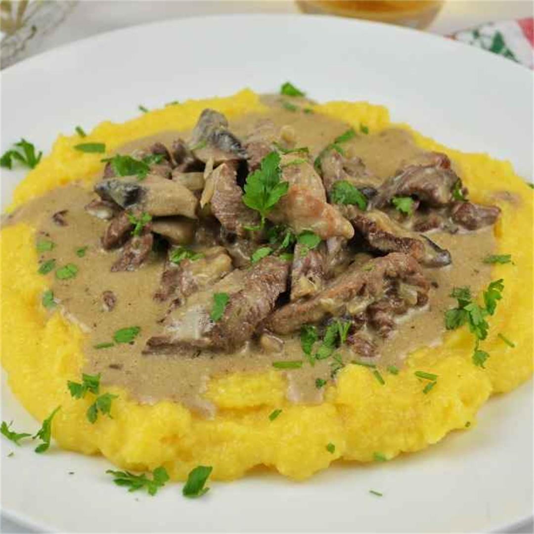 Best Homemade Beef Stroganoff Recipe-Timea's Kitchen
