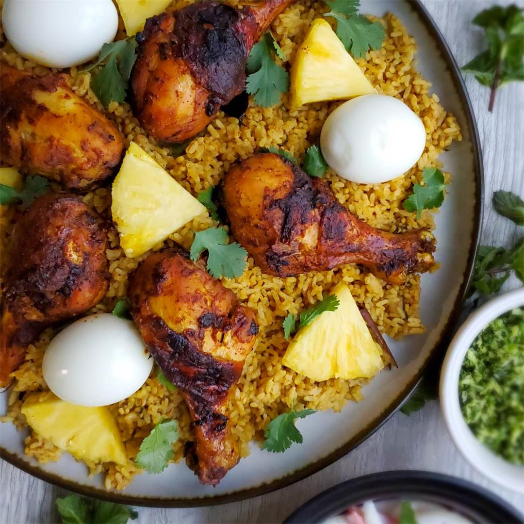 Sri Lankan Chicken Biryani