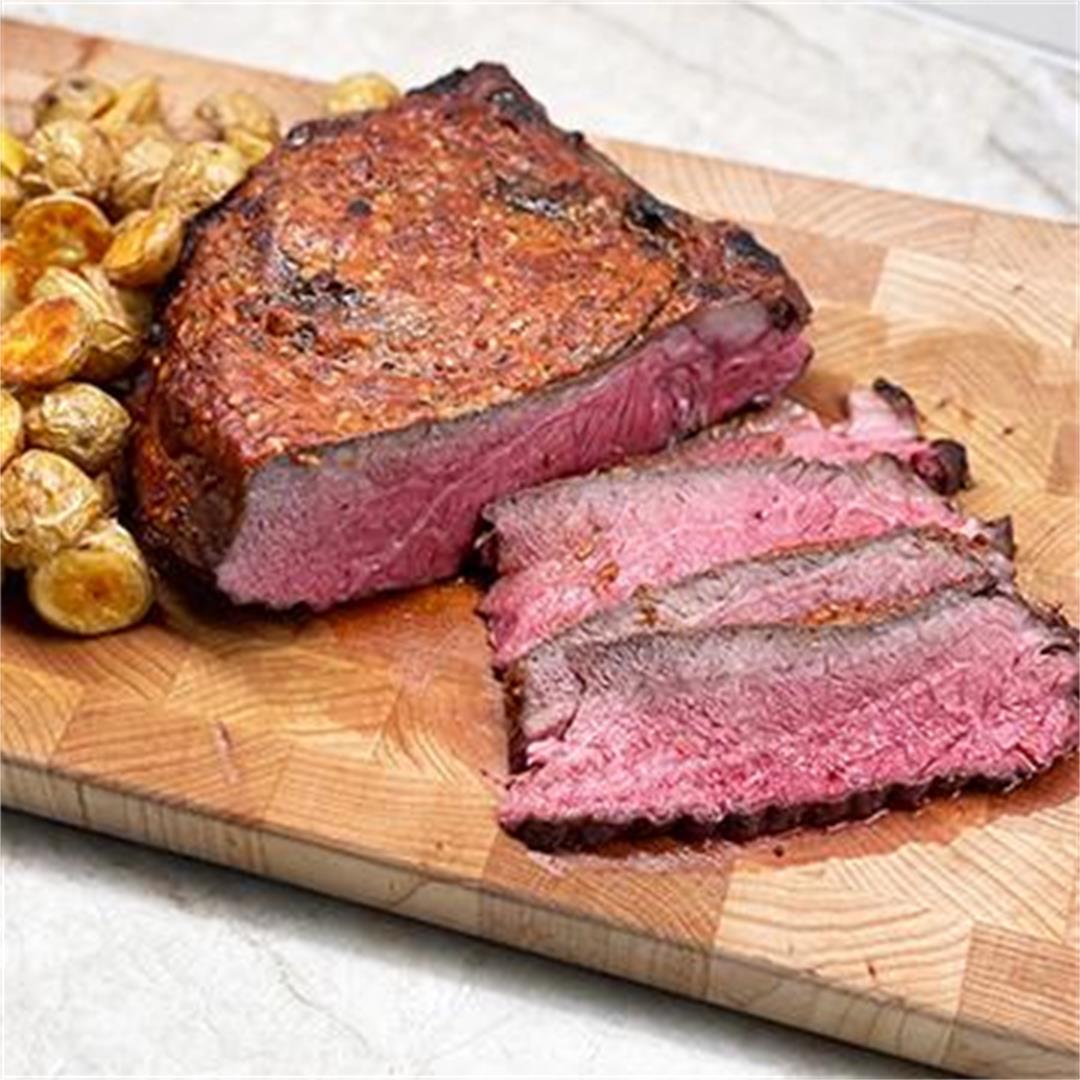 Arrabiata-Style Wagyu Roast Beef with Potatoes