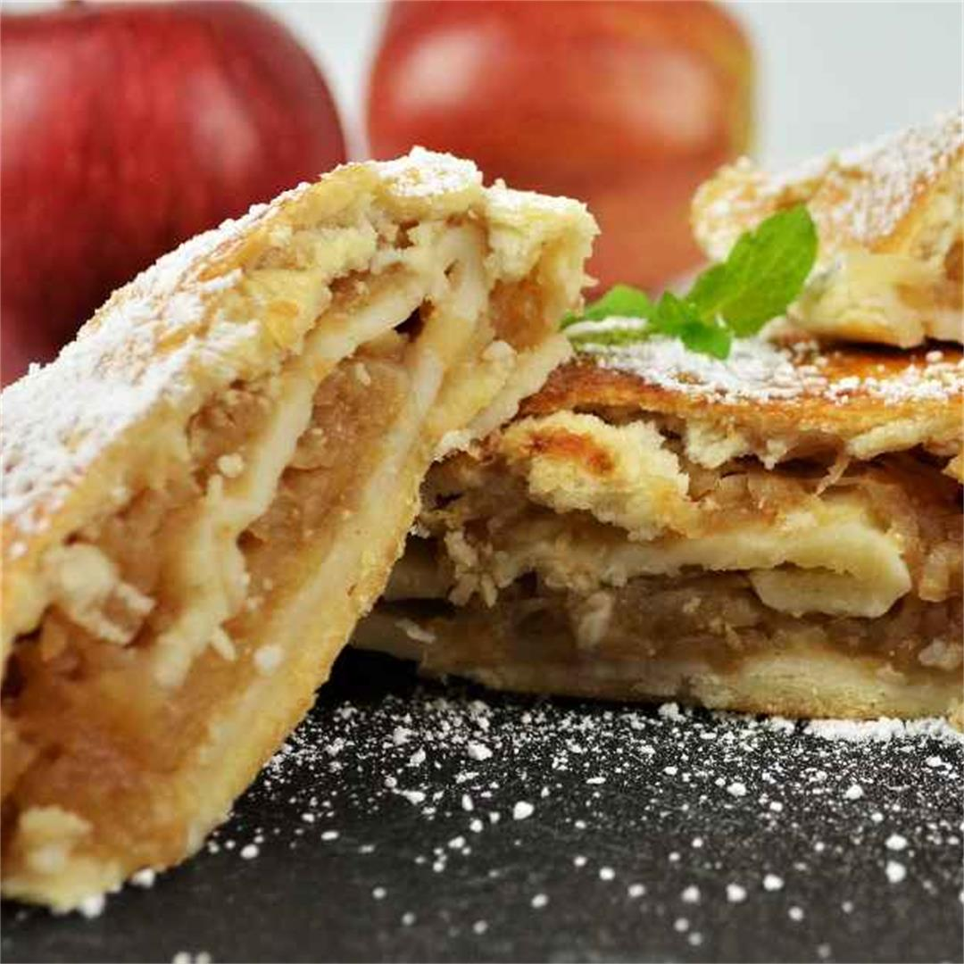 Apple Shortcrust Pastry Recipe-Timea's Kitchen