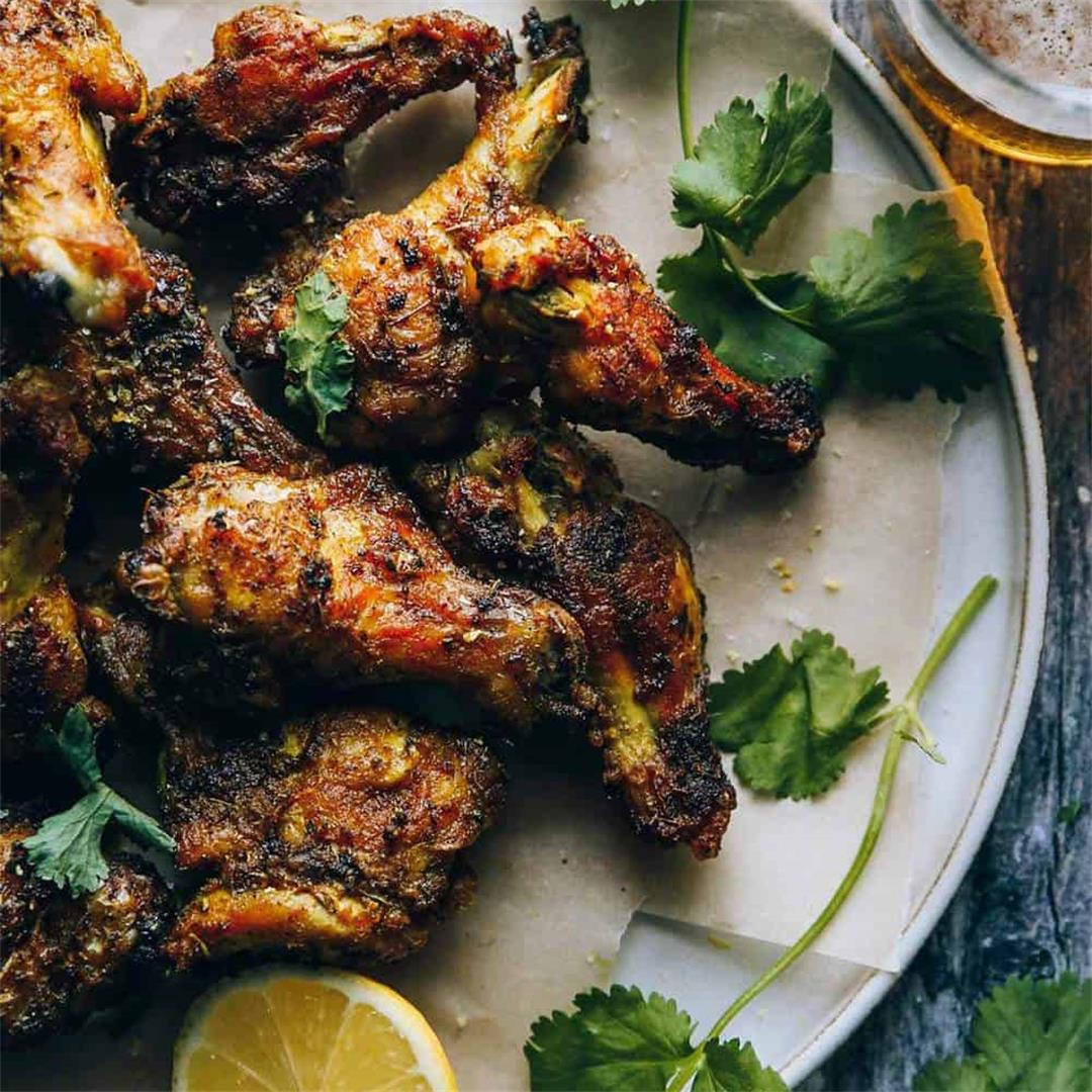 The Best Dry-Rubbed Crispy Baked Chicken Wings