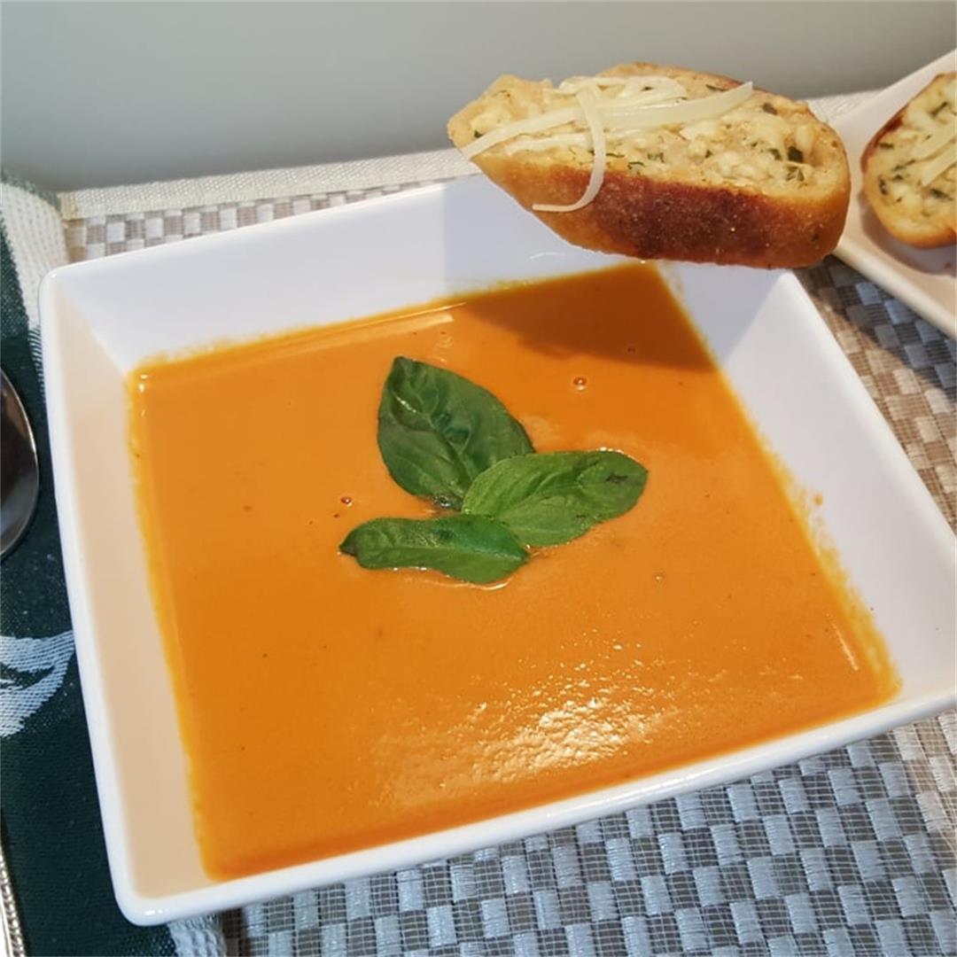 Pressure Cooker Nordstrom Tomato Basil Soup (Tomato Bisque)