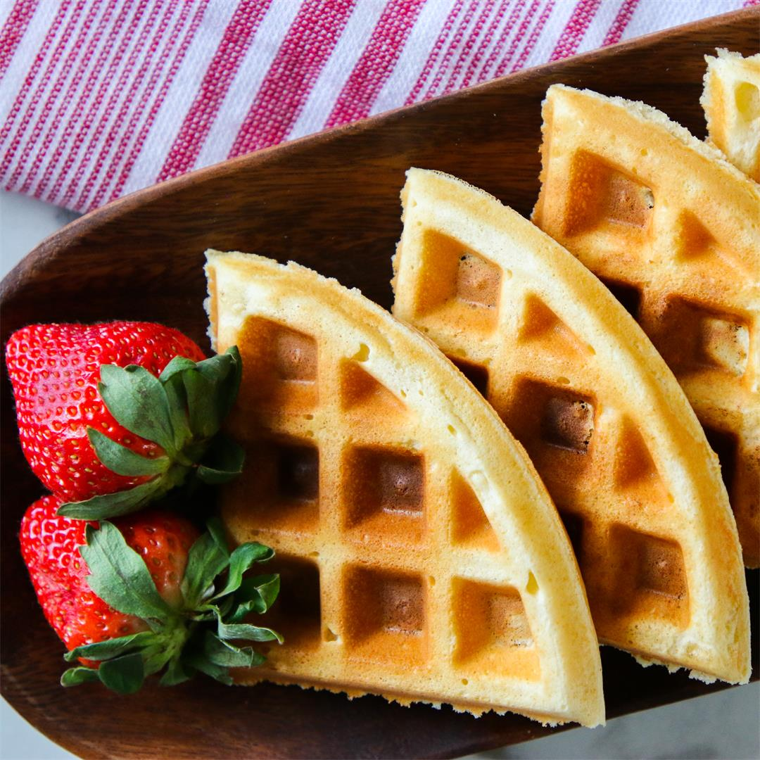 Waffle Recipe for One