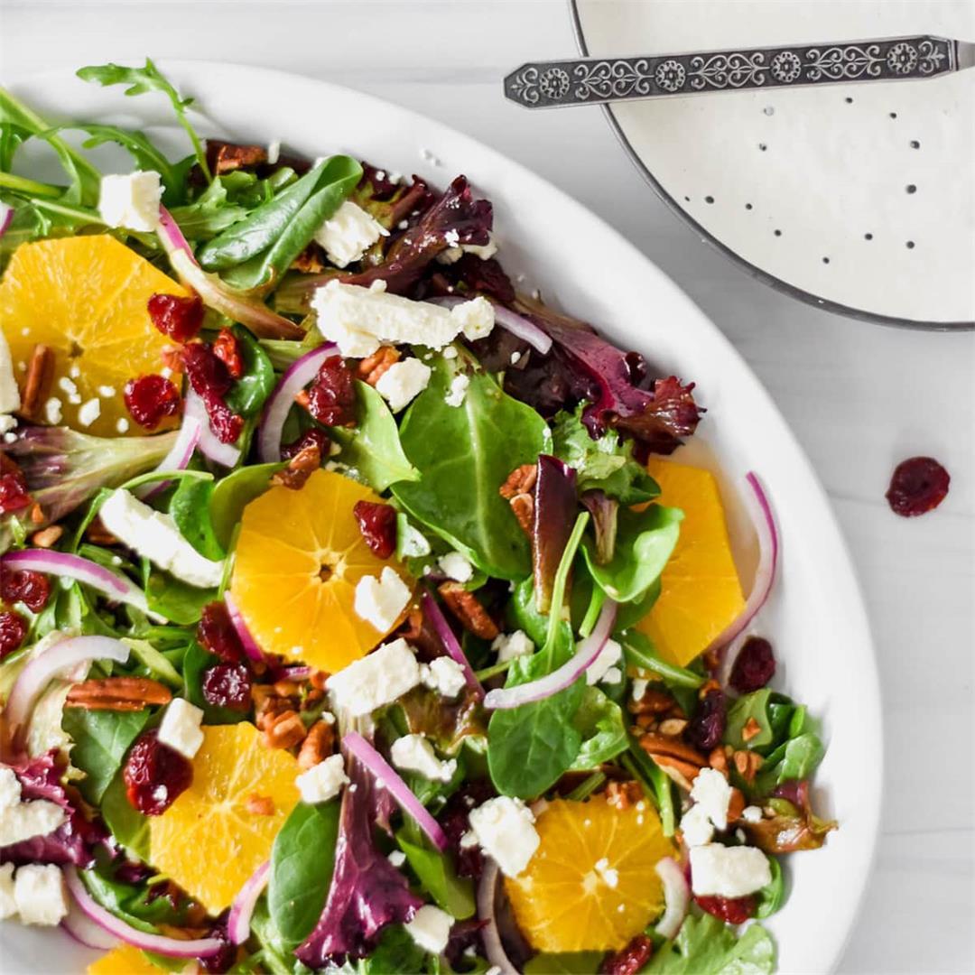 Cherry Citrus Salad — Foodborne Wellness