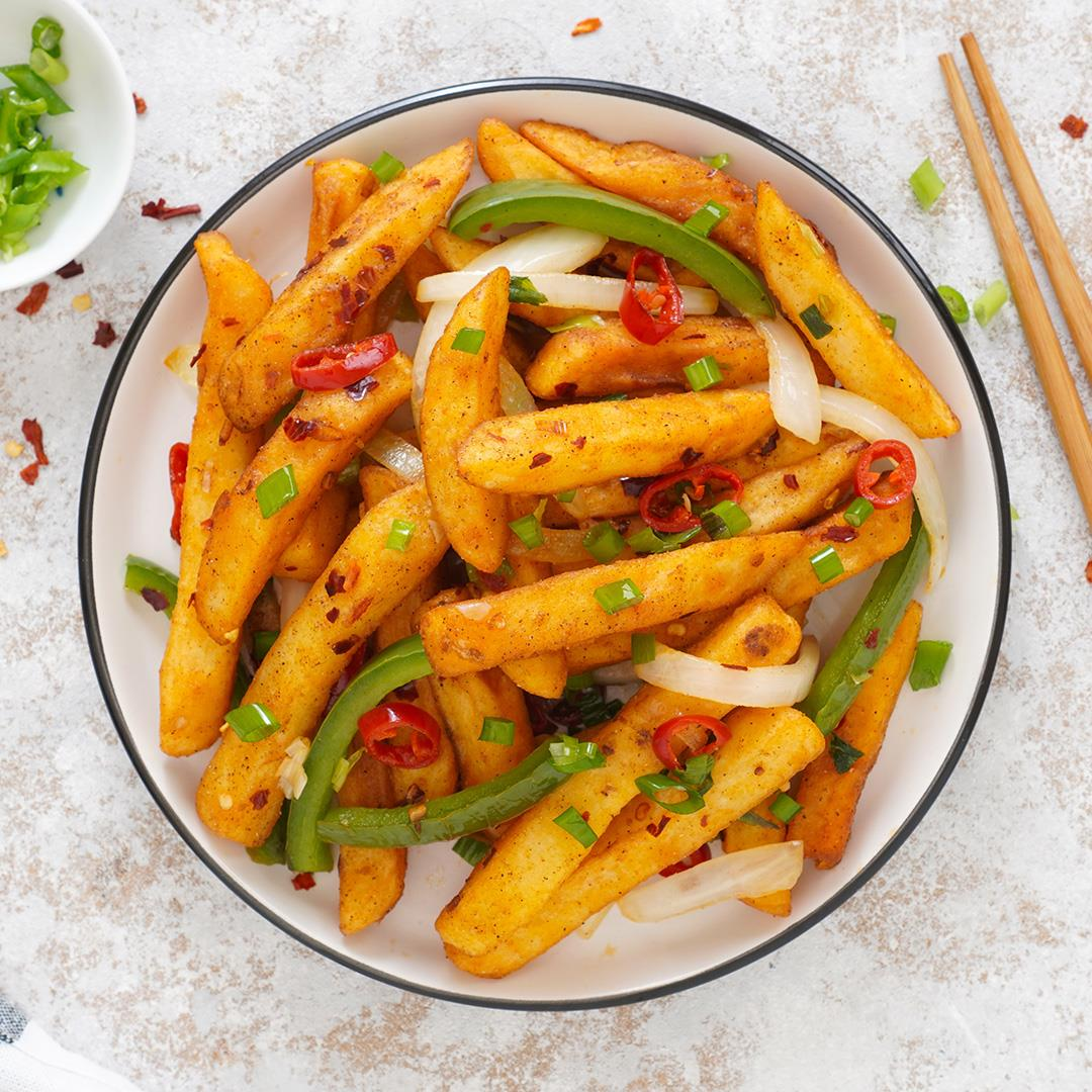 Chinese Salt and Pepper Chips