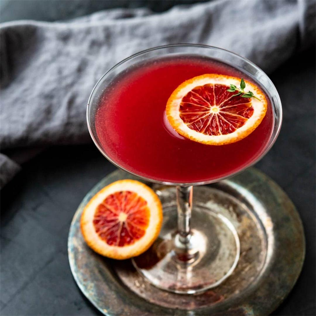 The Original Blood Orange Martini