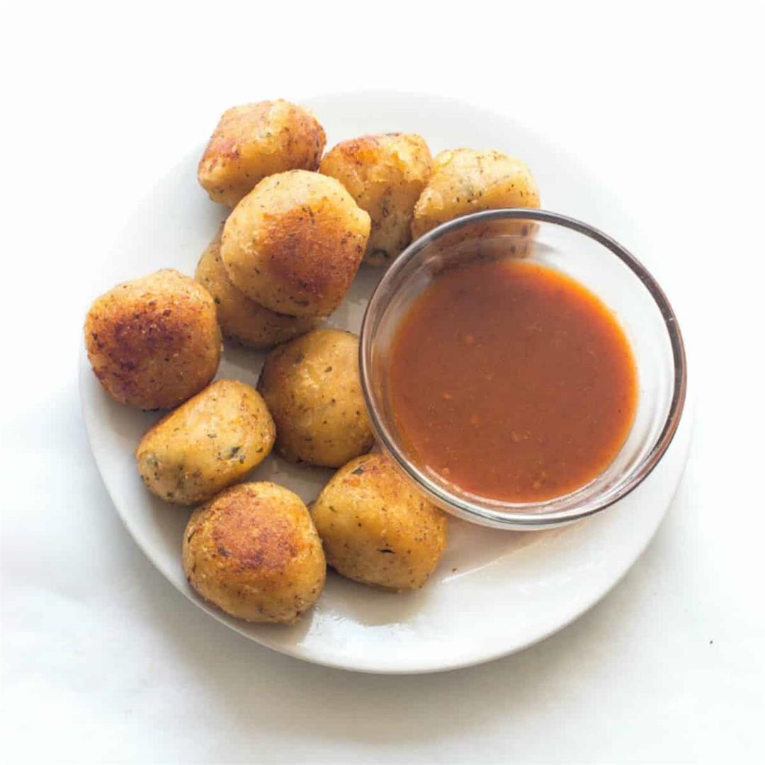 Cassava Balls (Vegan, Gluten Free)