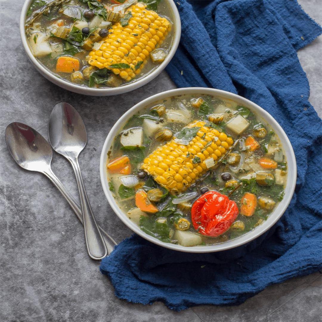 Caribbean Detox Soup