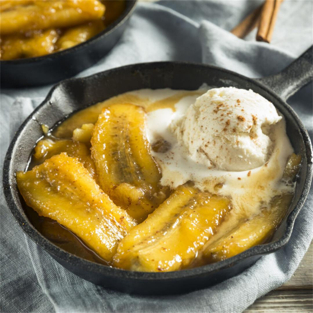 Classic Bananas Foster Recipe