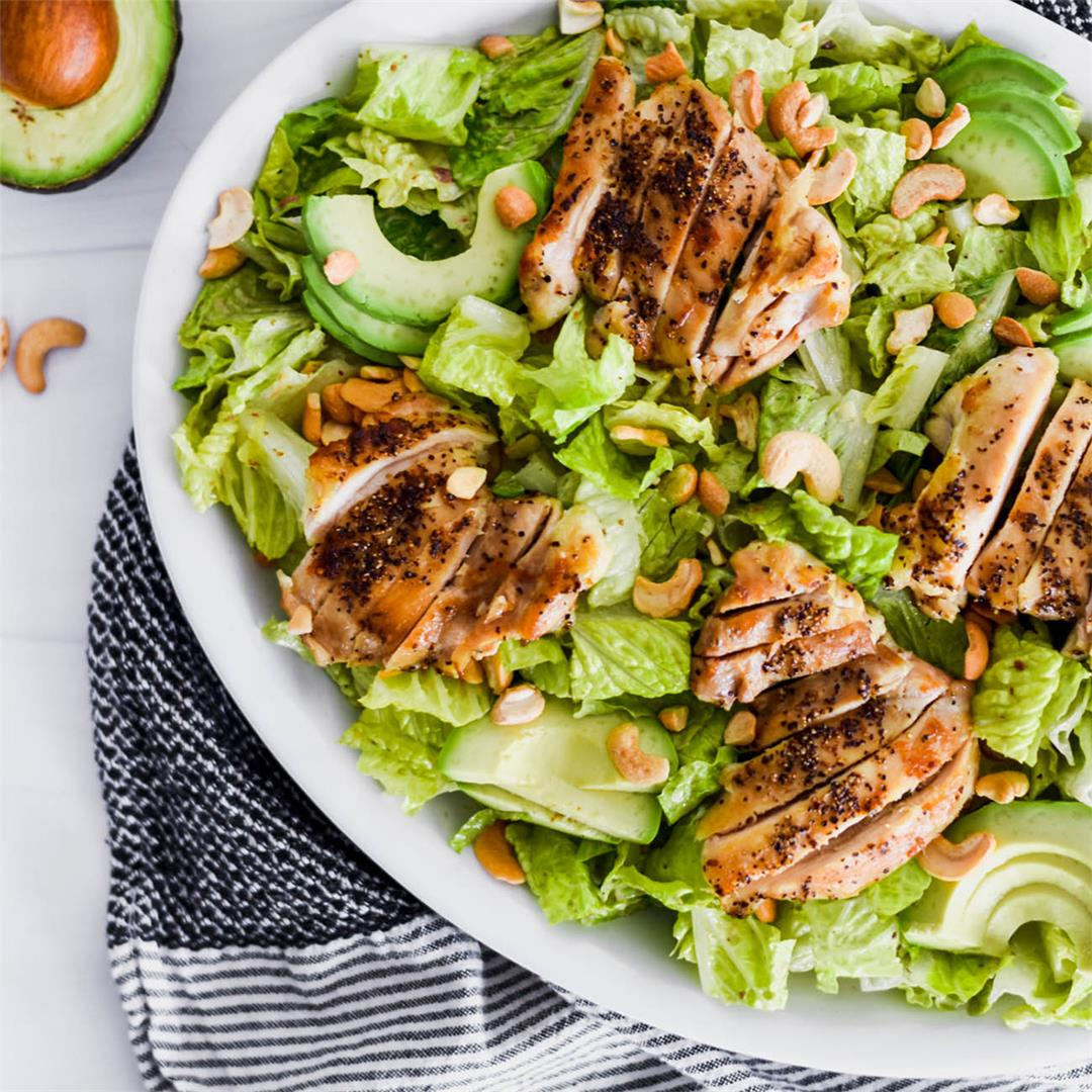 Whole30 Caesar Salad — Foodborne Wellness