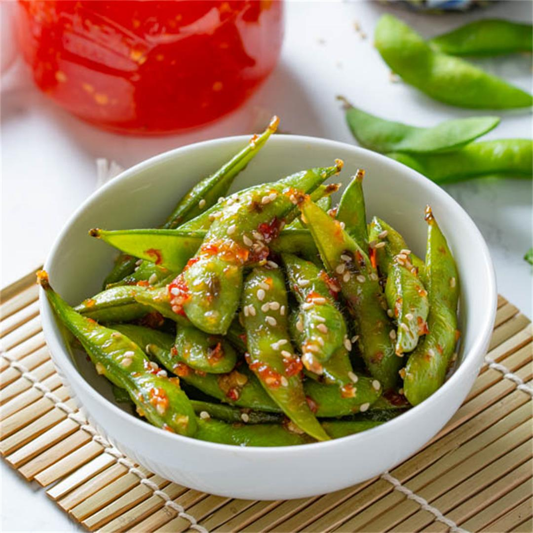 Sweet Chili Edamame