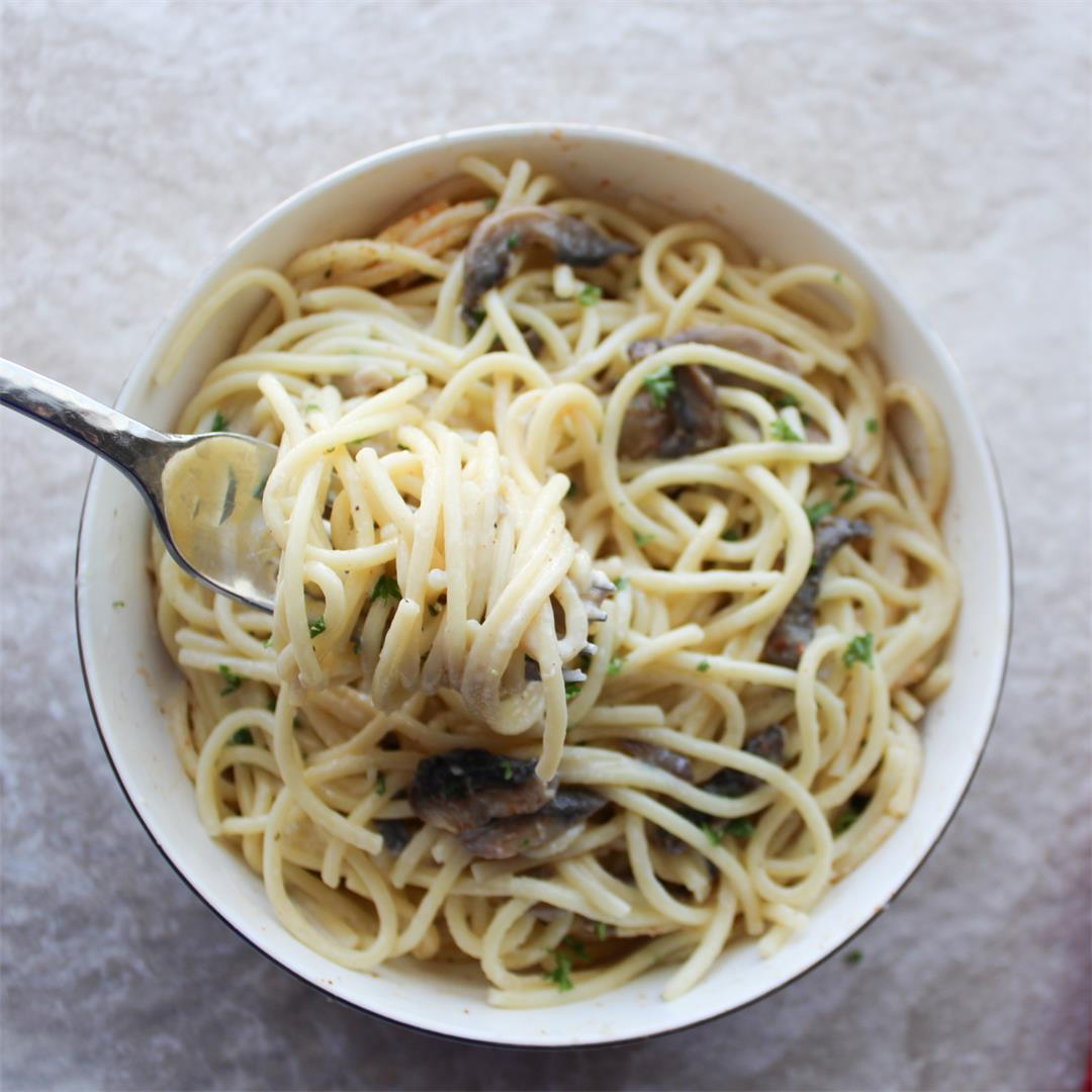 Click Here For Our Easy Creamy Mushroom Pasta Recipe