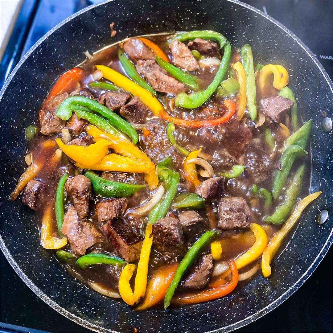 Sous Vide Pepper Steak