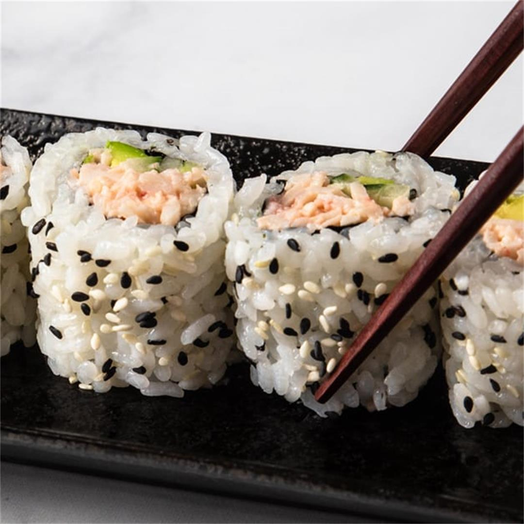 How to Make Tasty California Roll