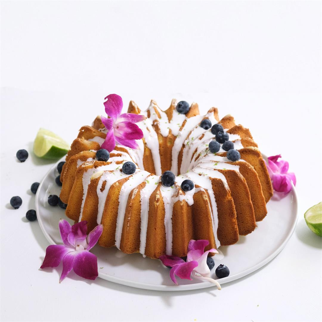 Gluten free mango cake with cassava and corn flour