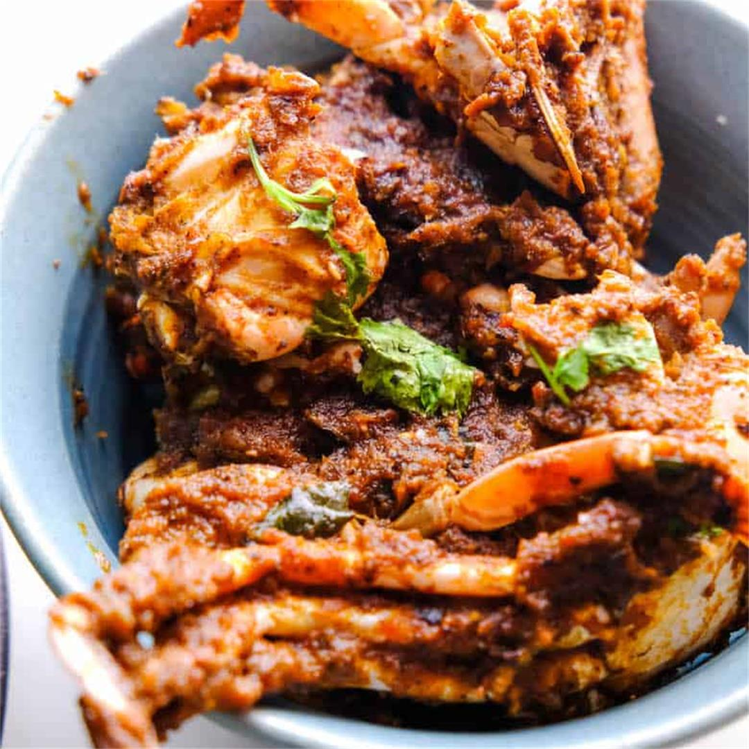 Chettinad Crab Masala