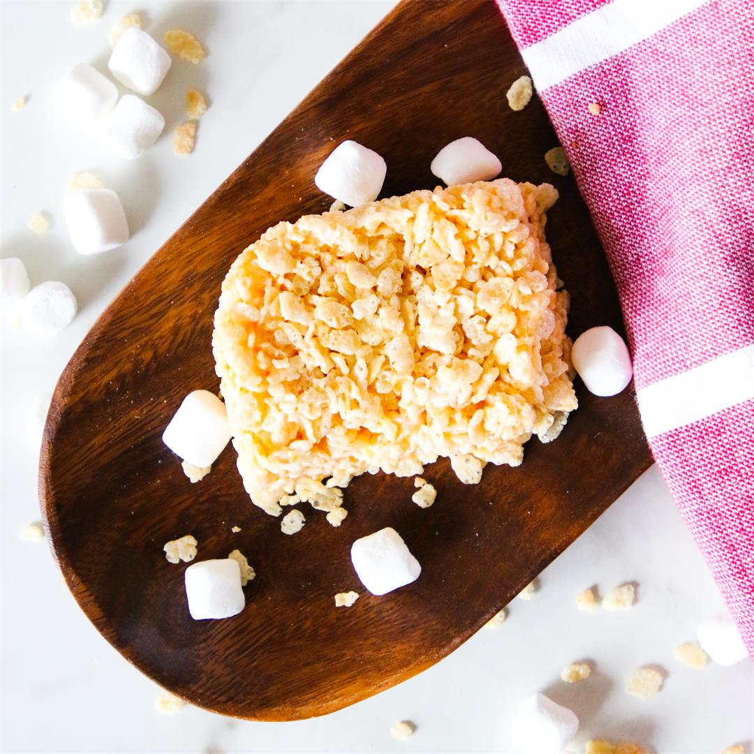 Single Serve Rice Krispie Treat