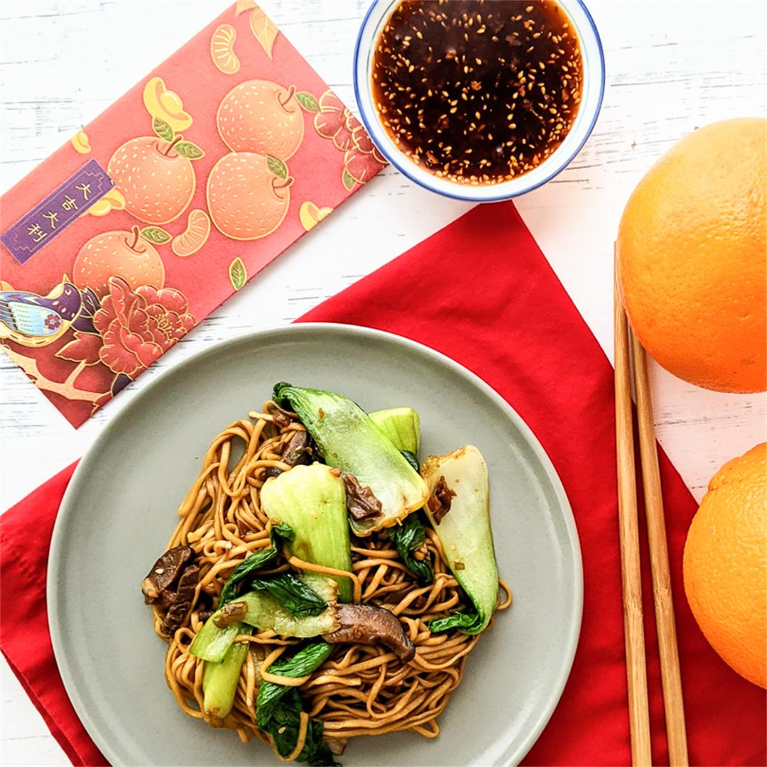 Vegan Longevity Noodles