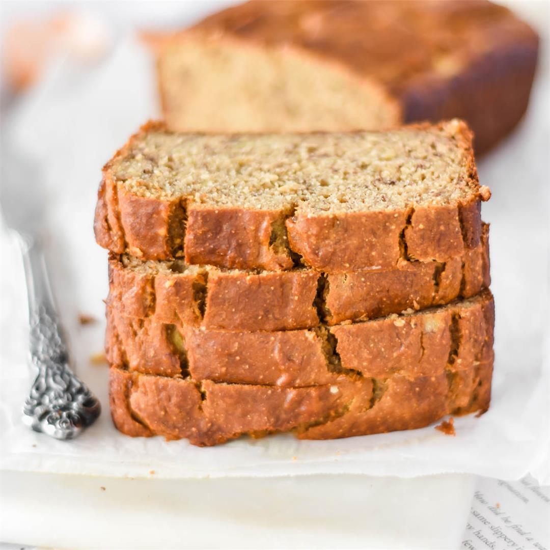 Chickpea Flour Banana Bread — Foodborne Wellness