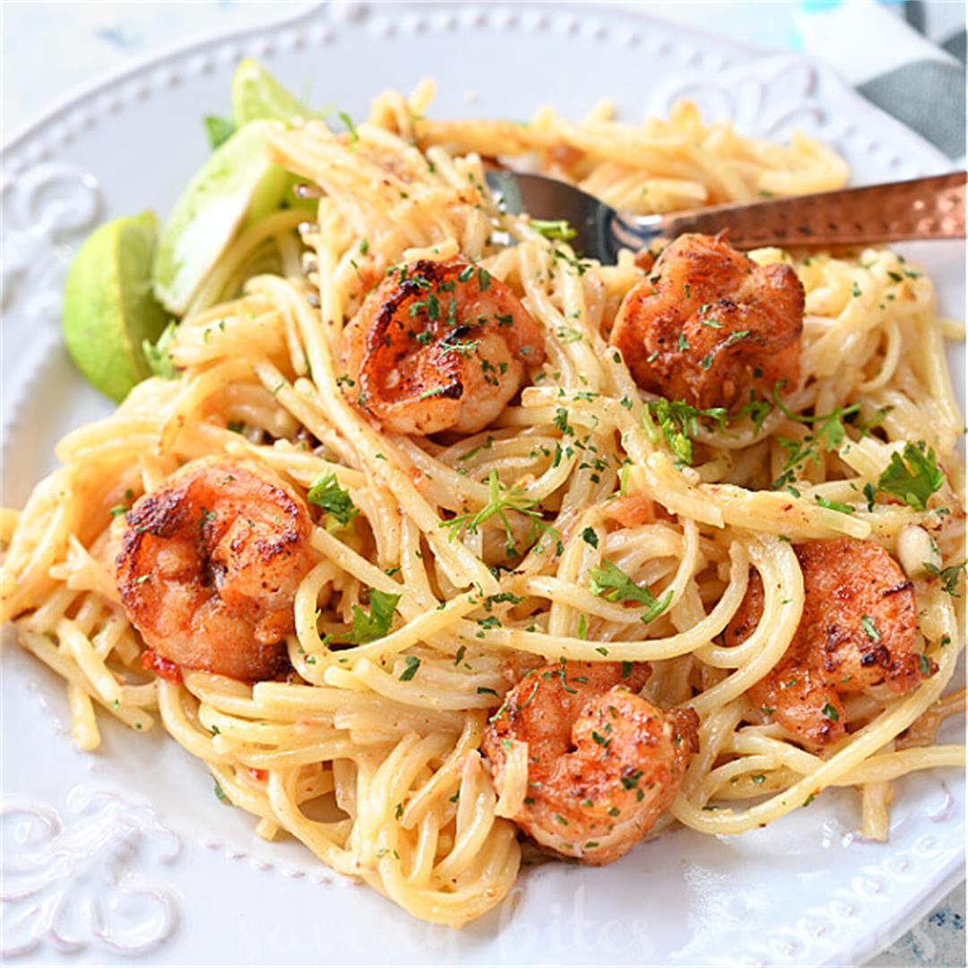 Try This Ultimate Bang Bang Shrimp Pasta