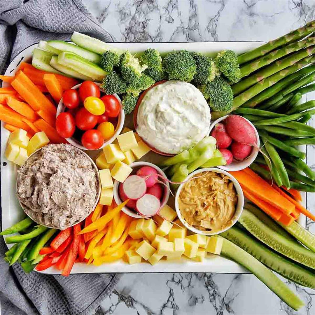 Top 10 tips for the Ultimate Crudité Platter