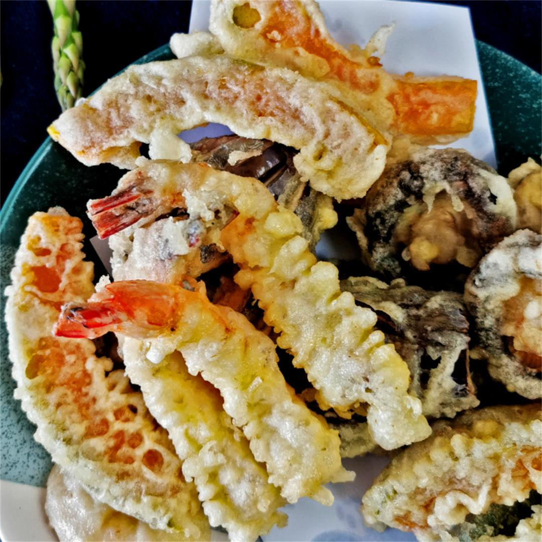 Tempura batter recipe- How to make amazing tempura at home
