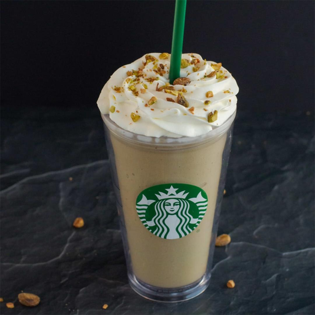Pistachio Frappuccino (Starbucks Copycat)